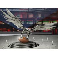 Buy cheap Large Stainless Steel Sculpture Outdoor Decoration Stainless Steel Eagle from wholesalers