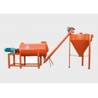 Buy cheap Small Cornice 3T/H Gypsum Powder Mortar Making Machine from wholesalers