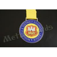 China Europe Design Custom Sports Medals Customized Medallion With Lion Logo wholesale