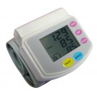 China Automatic digital portable LCD arm wrist blood pressure monitor with battery CE approval wholesale