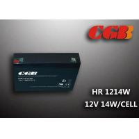 China 12V 3AH HR1214W Energy Storage Battery , High Rate Discharge battery Maintenance Free wholesale