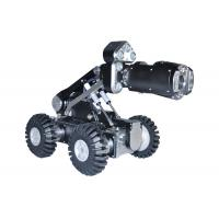 China Drain CCTV Pipe Inspection Equipment With Crawler , Lens , Cable Reel wholesale