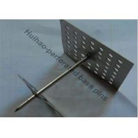 China 50mm base Mild Steel Insulation anchor Pins For Reinforceing Soundproof Fabrics wholesale