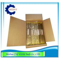 China Single Hole Brass Tube 1.2x400mmL Electrode Copper Pipe EDM Drill Parts wholesale