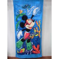 China cheap Beach towel 75*150 cotton terry towels in bulk wholesale
