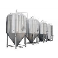 China Color Mirror Polish / Steel Small Conical Fermenter For Beer Brewing Kits wholesale