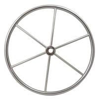China Central Cap Included Sailboat Steering Wheel Mirror Polished Surface wholesale