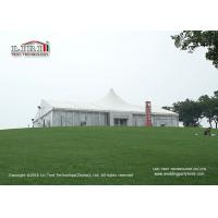 Buy cheap White PVC Waterproof 20x30m Luxury Tent used for Outdoor Wedding of 500 people from wholesalers