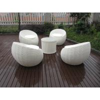 China Comfortable Outdoor Rattan Furniture Sofa Chair Set For Garden wholesale