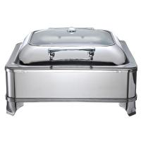 China Electric Stainless Steel Restaurant Buffet Chafing Dish With Cover For Catering Equipment 1806E wholesale