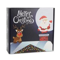 China Christmas Gift Folding Boxes Corrugated Paper Top Sheet White Back Paper wholesale