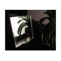 China Bathroom Colored Mirror Glass 3mm - 8mm Thickness Shape Customized For Hotel on sale