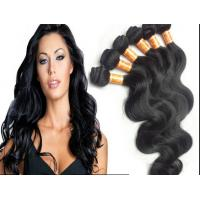 China Color 1B Body Wave Peruvian Human Hair Extensions With Unprocessed wholesale