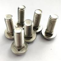 China Dacromet Cup Head Square Neck Bolt , Stainless Steel Mushroom Head Bolts wholesale