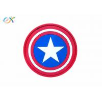 China Personalized Custom Morale Patches Pvc NEO Tactical Gear Captain America wholesale
