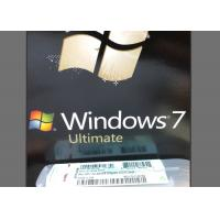 China Global Language Valid Windows 7 Ultimate Product Key Full Version Warranty For Lifetime wholesale