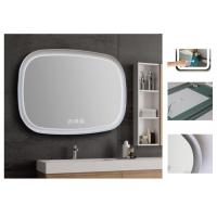 China LED Backlit Dimmable Bathroom Mirror With Explosion Proof Surface wholesale