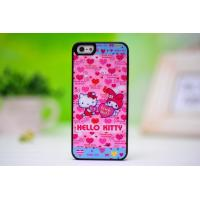 China New fashion Hello Kitty iphone5 case protective sleeve lovely pretty silicone shell drill wholesale