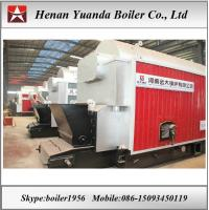 Travelling Grate chain grate stoker coal boiler/solid fuel boiler