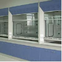 Buy cheap Cupboard Steel Fume Hood Lab Equipment , Chemical Fume Hood For School from wholesalers