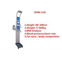 China Pharmacy Weighing Scale With Body Fat Analyzer With Blood Pressure 500kg Load Cell wholesale