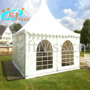 China Heat Welding 6061-T6 Aluminum Party Tent White Inflatable wholesale