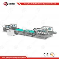 China CE Approval Solar Panel Production Line Glass Straight Line Double Edging Machine wholesale