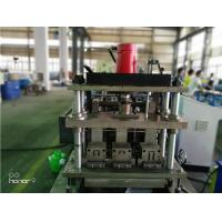 Quality 3 Rows Guide Rail Solar Roll Forming Machine for solar stands continues punching wholesale