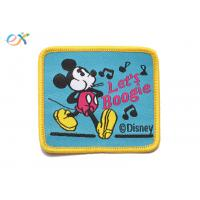 China Twill Material Background Fabric Mickey Mouse Iron On Patches For Clothing wholesale