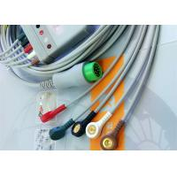 China 12 Pin 5 Leads One Piece ECG Cable Monitor Connector Cable Compatible Mindray wholesale