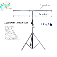 China Line Array Crank Stand Truss Lift Tower For Hanging Lighting wholesale