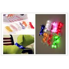 Quality Celebration Halloween Decorative Multi Color LED Light Shoelaces / Belt With Logo Printing for sale