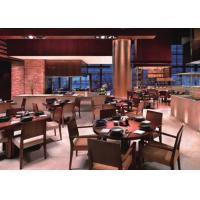 China Modern Style Commercial Dining Furniture , Hotel Lobby / Restaurant Banquette Seating wholesale