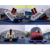 China Inflatable Titanic Slide, Inflatable Dry,Water Slide wholesale