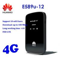 Buy cheap Huawei E589u-12 4G Router 100Mbps LTE Mobile Router from wholesalers