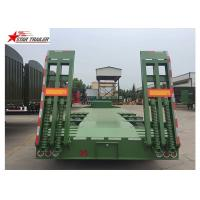 China High And Low Panels Low Bed Semi Trailer Exposed Tires Transportation Engineering Machinery wholesale