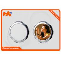 China Small Sublimation Compact Mirror For Wedding Gift Convenient Carrying wholesale