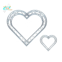 China Custom 1.5m Arch Love Background Round Wedding Truss wholesale