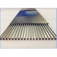 China Heater Welding Aluminum Tubing , High Frequency Welded Aluminum Rectangular Tubing wholesale