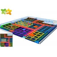 China Trampoline Indoor Playground Ninja Course Provide Installation Instructions wholesale