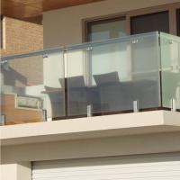 China High Quality Modern Design Stainless Steel and Glass Balcony Railings wholesale