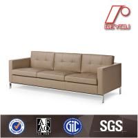 Quality Popular and modern leather office sofa SF-502 made in China for sale