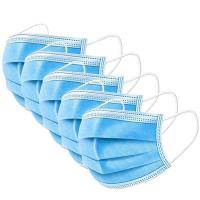 China Adjustable Disposable Medical Face Mask , 3 Ply Surgical Face Mask Enhanced Protection wholesale
