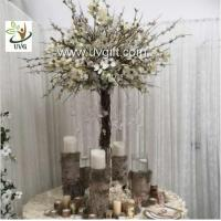 China UVG Decorative Centerpieces Table Wedding Blossom Trees White Artificial magnolia flower wholesale