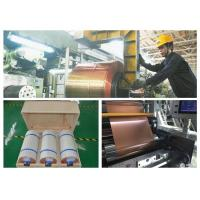 China Ultra Rolled Copper Sheet , Under 0.025um Roughness Rolled Copper Foil on sale