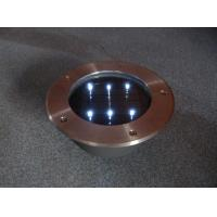 China stainless steel Round Solar Brick with 6 LED wholesale