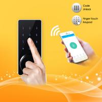 Buy cheap Bluetooth Full Smart Home System Finger Touch Keypad Password Door Lock from wholesalers