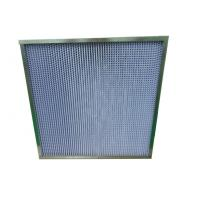 China Indoor ReusableHEPA Air Filter with Big Air Flow and Large Dust Holding on sale