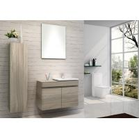 China Hanging Bathroom vanity custom made grey Color Plywood board wall bathroom cabinets 80 X 45 / cm wholesale