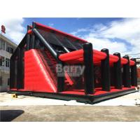 Buy cheap Attractive Rides Jump Kids Red Drop Tower Inflatable Interactive Games / Funny Drop Tower from wholesalers